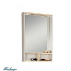 Зеркало Акватон Йорк 55 белое/ясень фабрик