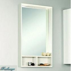 Зеркало Акватон Йорк 50 белое/выбеленное дерево