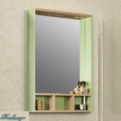 Зеркало Акватон Йорк 60 салатовое/дуб сонома