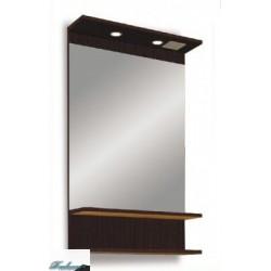 Зеркало 1MarKa Кварта 55 лайт венге/дуб пастельный