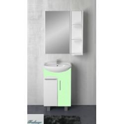 Комплект мебели 1MarKa Йота 45Н салатовый глянец
