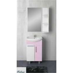Комплект мебели 1MarKa Йота 45Н розовый глянец