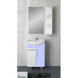 Комплект мебели 1MarKa Йота 45Н голубой глянец