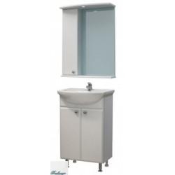 Комплект мебели Я Мебель Пион 50, зеркало-шкаф левый