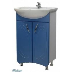 Тумба с раковиной Я Мебель Палермо 50, синяя