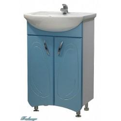 Тумба с раковиной Я Мебель Палермо 50, голубая