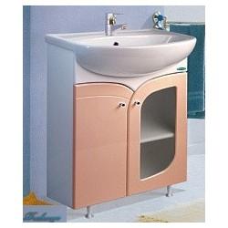 Тумба с раковиной Spectrum Уют 60-31 розовая