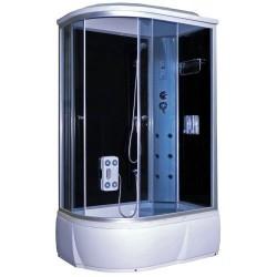 Душевая кабина Aquapulse 3106А R матовые стекла, белые стенки, размер 120x80x220. Правосторонняя