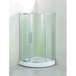 Душевой уголок Водный мир ВМ-941,низкиЙ поддонн 100x100x200 см,матовое стекло