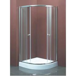 Душевой уголок Водный мир ВМ-8163s,низкий поддонн 100x100x194 см,матовое стекло