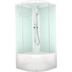 Душевая кабина Domani-spa Delight110 high размер 100x100 прозрачные стекла DS01D110HWCl00