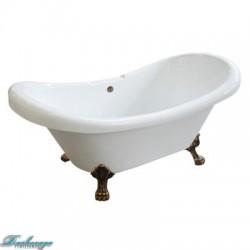 Ванна Faro Классик CLDS59 ножки античная медь