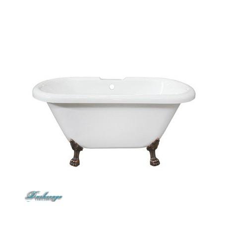 Ванна Faro Комфорт CLDBL73 ножки античная медь