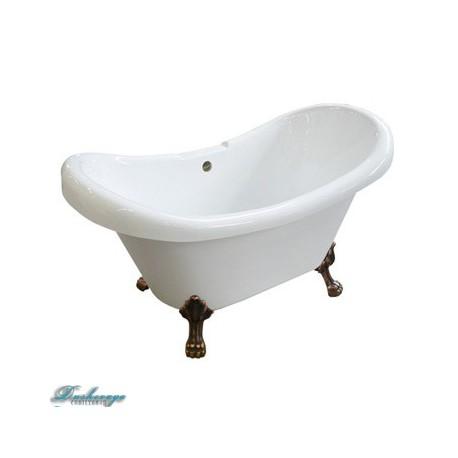 Ванна Faro Классик CLDS73 ножки бронза