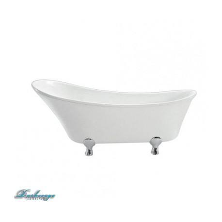 Ванна BelBagno BB23-CRM ножки хром