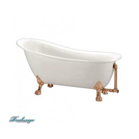 Ванна BelBagno BB06-1700-BRN ножки бронза