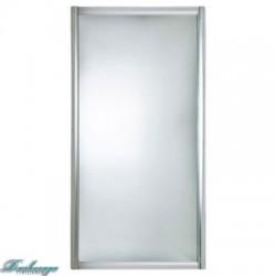 Боковая шторка для ванны 1MarKa профиль хром 70*140