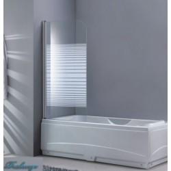 Шторка для ванны Bravat Eco-75, 130*75