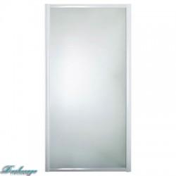 Боковая шторка для ванны 1MarKa профиль белый 80*140
