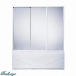 Шторка для ванны Bas Ахин/Мальта/Атланта/Нептун грейп стекло