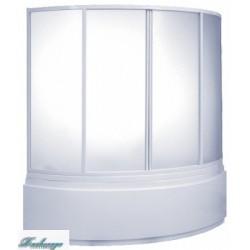 Шторка для ванны Bas Сагра вотер пластик