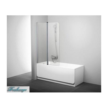 Шторка для ванны Ravak Cvs2-100 L белая