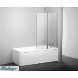 Шторка для ванны Ravak 10° 10Cvs2-100 R блестящая