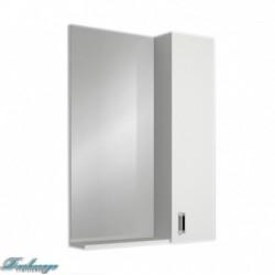 Зеркало-шкаф 1MarKa Гамма 55 белый глянец