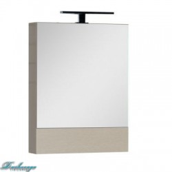 Зеркало-шкаф Aquanet Нота 50 камерино светлый дуб без светильника