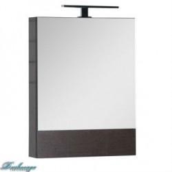 Зеркало-шкаф Aquanet Нота 50 камерино венге без светильника