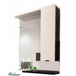 Зеркало-шкаф 1MarKa Кода 65 венге/белый глянец