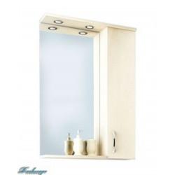 Зеркало-шкаф 1MarKa Рондо 80 дуб пастельный